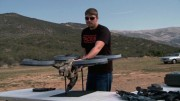 Prototype Quadrotor with Machine Gun!
