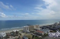 Drone view of scenic Myrtle Beach, South Carolina