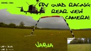 FPV Racing quad with rear view camera – Somerset, UK